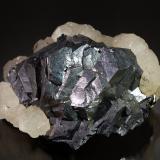 Galena<br />Herja Mine, Chiuzbaia, Baia Sprie, Maramures, Romania<br />5.9 cm x 8.4 cm<br /> (Author: Michael Shaw)
