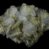 Anhydrite<br />Campiano Mine, Montieri, Grosseto Province, Tuscany, Italy<br />40 x 30 x 20 mm<br /> (Author: Rob Schnerr)