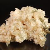 Calcite<br />Spivey Mine, Harris Creek Sub-District, Hardin County, Illinois, USA<br />6.6 cm x 7.9 cm x 10.1 cm.<br /> (Author: Michael Shaw)