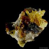 Anglesita.<br />Mina Zelidja, Distrito minero Touissit-Bou Bekker, Provincia Jerada, Región Oriental, Marruecos<br />55x45 mm.<br /> (Autor: Jesus Franquesa Baucells)