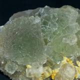 Fluorite<br />Yongping Mine, Yongping, Yanshan, Shangrao Prefecture, Jiangxi Province, China<br />8 x 5 cm<br /> (Author: Volkmar Stingl)