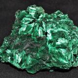 Malachite<br />Mindingi Mine (Mindigi Mine), Swambo, Kambove District, Katanga Copper Crescent, Katanga (Shaba), Congo DR (Zaire)<br />10x11x7 cm<br /> (Author: Joseph DOliveira)