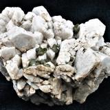 Titanite on Ilmenite pseudomorped by Rutile with Microcline<br />Imilchil area, Anti-Atlas, Er Rachidia Province, Drâa-Tafilalet Region, Morocco<br />10x6x5.5 cm<br /> (Author: Joseph DOliveira)