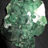 Fluorite<br />Mandrosonoro, Ambatofinandrahana District, Amoron'i Mania Region, Fianarantsoa Province, Madagascar<br />11x8.5x6 cm<br /> (Author: Joseph DOliveira)