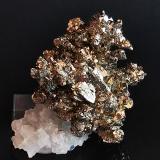 Pyrite<br />Bou Nahas Mine, Oumjrane mining area, Alnif, Tinghir Province, Drâa-Tafilalet Region, Morocco<br />5 cm x 5 cm<br /> (Author: Enrique Llorens)