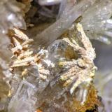 Fluorcalcioroméita, Barita<br />Corta Santa Matilde, Grupo minero Berja, Las Herrerías, Sierra Almagrera, Cuevas del Almanzora, Comarca Levante Almeriense, Almería, Andalucía, España<br />C.d.v. 1,0 x 0,75 cm.<br /> (Autor: Carles)