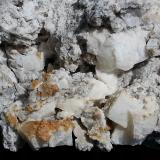 Fluorite with Calcite<br />Tschirgant Mount, North Tyrol, Tyrol/Tirol, Austria<br />12 x 8 cm<br /> (Author: Volkmar Stingl)