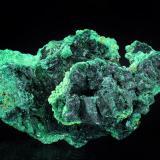 Malachite<br />Rudabánya, Borsod-Abaúj-Zemplén, Hungary<br />69 x 38 mm<br /> (Author: Gerhard Brandstetter)