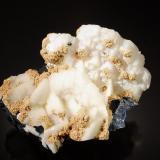 Calcite, Siderite<br />Herja Mine, Chiuzbaia, Baia Sprie, Maramures, Romania<br />6.5 cm x 9.5 cm<br /> (Author: Michael Shaw)