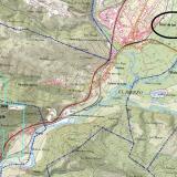 """Concesiones del Grupo Minero """"Antonina"""" sobre Servicio WMS """"Cartografía del IGN"""" (Mapa Topográfico Nacional a escala 1:25.000). Detalle. «© Instituto Geográfico Nacional de España» (Autor: Inma)"""