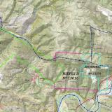 """Concesiones del Grupo Minero """"Antonina"""" sobre Servicio WMS """"Cartografía del IGN"""" (Mapa Topográfico Nacional a escala 1:25.000). «© Instituto Geográfico Nacional de España» (Autor: Inma)"""