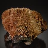 Calcite on Sphalerite<br />Minerva I Mine, Ozark-Mahoning group, Cave-in-Rock Sub-District, Hardin County, Illinois, USA<br />5.8 cm x 7.7 cm<br /> (Author: Michael Shaw)