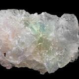 Fluorite<br />Huanzala Mine, Huallanca District, Dos de Mayo Province, Huánuco Department, Peru<br />6,1 x 4,6 x 3,5<br /> (Author: Bergur_E_Sigurdarson)