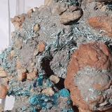 Malachite<br />Mockleiten Mine, Brixlegg, Kufstein District, Inn Valley, North Tyrol, Tyrol/Tirol, Austria<br />6 x 4 cm<br /> (Author: Volkmar Stingl)