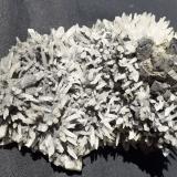 Jamesonite, Quartz, Sphalerite, Chalkopyrite<br />Stan Trg (Stari Trg) Mine, Trepča Complex, Trepča Valley, Kosovska Mitrovica, Kosovska Mitrovica District, Kosovo<br />10 x 7 cm<br /> (Author: Volkmar Stingl)