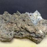Bismuth<br />Boccheggiano Mines, Montieri, Grosseto Province, Tuscany, Italy<br />73 x 53 mm<br /> (Author: Sante Celiberti)