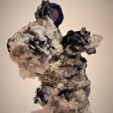 Hematite<br />Les Courtes, Bassin du Talèfre, Mont Blanc Massif, Chamonix, Haute-Savoie, Auvergne-Rhône-Alpes, France<br />30mm*20mm*20mm<br /> (Author: Philippe Durand)