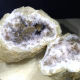 Aragonite, Kutnohorite<br />Levane, Bucine, Valdarno (Val d'Arno), Arezzo Province, Tuscany, Italy<br />46 x 32 mm<br /> (Author: Sante Celiberti)
