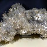 Aragonite, Kaolinite<br />La Selva Mine, Casal di Pari, Civitella-Paganico, Grosseto Province, Tuscany, Italy<br />18 x 12 cm<br /> (Author: Sante Celiberti)