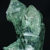 Quartz with Anatase and Chlorite inclusions<br />Sainj Valley, Manihar Valley, Kullu District, Himachal Pradesh, India<br />Specimen size: 20 × 11.3 × 8.3 cm / main crystal size: 15.5 × 6.8 cm<br /> (Author: Jordi Fabre)
