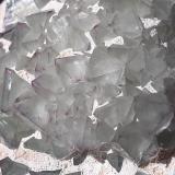 Fluorite<br />De'an Mine, Wushan, De'an, Jiujiang Prefecture, Jiangxi Province, China<br />6 x 5,5 cm<br /> (Author: Volkmar Stingl)
