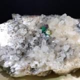 Ankerite, Quartz, Galena, Chalcopyrite, Malachite, Smithsonite<br />Isola del Giglio, Grosseto Province, Tuscany, Italy<br />11,5 x 6,5 cm<br /> (Author: Sante Celiberti)