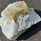 Beryl<br />Lauvland 04 Quarry (Brattekleiv), Lauvland, Evje og Hornnes, Agder, Norway<br />3 x 3 cm<br /> (Author: Volkmar Stingl)