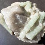 Beryl<br />Palermo No. 1 Mine, Groton, Grafton County, New Hampshire, USA<br />10 x 8 cm<br /> (Author: Volkmar Stingl)