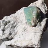 Beryl (variety emerald)<br />Pizzo Marcio, Vigezzo Valley, Ossola Valley, Trontano, Verbano-Cusio-Ossola Province, Piedmont (Piemonte), Italy<br />3 x 2 cm<br /> (Author: Volkmar Stingl)