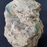 Beryl (variety aquamarine)<br />Ishikawa, Japan<br />4 x 4 cm<br /> (Author: Volkmar Stingl)