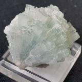 Beryl (variety aquamarine)<br />Dassu, Shigar District, Gilgit-Baltistan (Northern Areas), Pakistan<br />2 x 2 cm<br /> (Author: Volkmar Stingl)