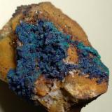 Azurite, Malachite<br />Sankt Gertraudi mining area, Brixlegg, Kufstein District, Inn Valley, North Tyrol, Tyrol/Tirol, Austria<br />49 x 35 mm<br /> (Author: Sante Celiberti)