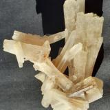 Celestine, Sulfur<br />Machów Mine, Tarnobrzeg, Subcarpathian Voivodeship, Poland<br />9 x 7 cm<br /> (Author: Volkmar Stingl)