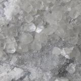 Calcite, Pyrite, Quartz<br />Baimashan tunnel (construction site), Qianbaxia, Wuyishan, Nanping Prefecture, Fujian Province, China<br />11 x 7 cm<br /> (Author: Volkmar Stingl)