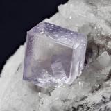 Fluorite<br />Llamas Quarry, Obdulia vein, Caravia mining area, Las Cabañas, Duyos, Caravia, Comarca Oriente, Asturias, Principality of Asturias, Spain<br />Specimen size: 8.1 × 4.8 × 6.4 cm / main crystal size: 1.9 × 1.8 cm<br /> (Author: Jordi Fabre)