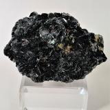 Hematite<br />Les Droites (south face), Mont Blanc Massif, Chamonix, Haute-Savoie, Auvergne-Rhône-Alpes, France<br />95mm x 65mm x 45mm<br /> (Author: Philippe Durand)