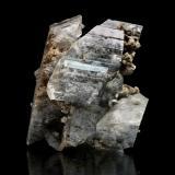 Gypsum with inclusions<br />Niccioleta Mine, Massa Marittima, Grosseto Province, Tuscany, Italy<br />mm.90x80x55<br /> (Author: Diego Pucci)