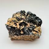 Hematite<br />Fibbia, Fontana, Central St Gotthard Massif, Leventina, Ticino (Tessin), Switzerland<br />80mm x 80mm x 40mm<br /> (Author: Philippe Durand)
