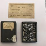 Rutile<br />Blumberg, Birdwood, South Mount Lofty Ranges, South Australia, Australia<br />5 cm box<br /> (Author: Peter Farquhar)