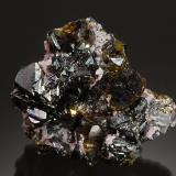 Sphalerite<br />Commodore Mine, Creede District, Mineral County, Colorado, USA<br />6.0 x 5.5 x 3.5 cm<br /> (Author: Michael Shaw)