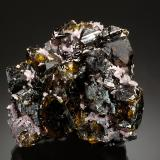 Sphalerite<br />Commodore Mine, Creede District, Mineral County, Colorado, USA<br />6.0 x 5.5 x 3.5 cm.<br /> (Author: Michael Shaw)