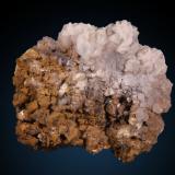 Dolomite and Calcite<br />El Almendral Quarry, Road to Berja, Berja, Comarca Poniente Almeriense, Almería, Andalusia, Spain<br />84mm x 72mm x 44mm<br /> (Author: Firmo Espinar)