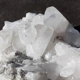 Calcite, Quartz<br />Tingzai Bian, Wuyishan, Nanping Prefecture, Fujian Province, China<br />6 x 4 cm<br /> (Author: Volkmar Stingl)