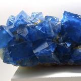 Fluorite, Quartz<br />Moritz II Mine, Sewen, Thann-Guebwiller, Haut-Rhin, Grand Est, France<br />22 x 8 x 8 cm<br /> (Author: Jean Suffert)