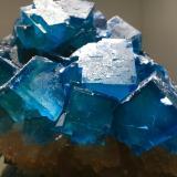 Fluorite, Quartz<br />Moritz II Mine, Sewen, Thann-Guebwiller, Haut-Rhin, Grand Est, France<br />26 X 18 X 18 cm<br /> (Author: Jean Suffert)