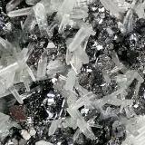Cuarzo, Esfalerita y Galena.<br />Mina Borieva, Zona minera Madan, Montes Rhodope, Smolyan Oblast, Bulgaria<br />13 x 9 cm.<br /> (Autor: Rafael varela olveira)