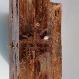 Aragonito.<br />Afloramiento del Keuper, Pino de la Vacariza-La Vacariza, Minglanilla, Comarca Manchuela Conquense, Cuenca, Castilla-La Mancha, España<br />5 x 2, 5 cm.<br /> (Autor: Rafael varela olveira)