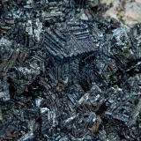 Magnetite<br />Zgounder Mine, Jebel Siroua, Taroudant Province, Souss-Massa Region, Morocco<br />Crystals of about 0.7 x 0.7 cm<br /> (Author: Jordi Fabre)