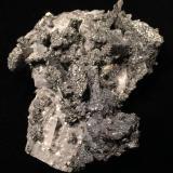 Enargite, Tetrahedrite, Barite<br />Quiruvilca Mine (La Libertad Mine), Quiruvilca District, Santiago de Chuco Province, La Libertad Department, Peru<br />200 mm X 120 mm 100 mm<br /> (Author: Robert Seitz)