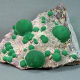 Malachite<br />Morenci Mine, Northwest Extension, Morenci, Copper Mountain District, Shannon Mountains, Greenlee County, Arizona, USA<br />6.5cm x 5.5cm<br /> (Author: rweaver)